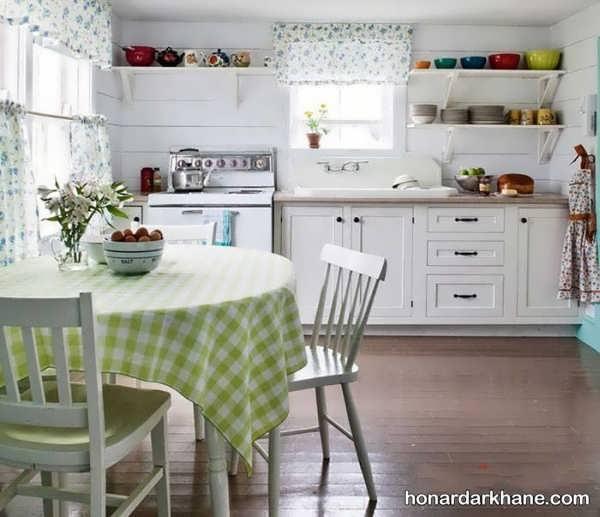 تزیین زیبای آشپزخانه عروس