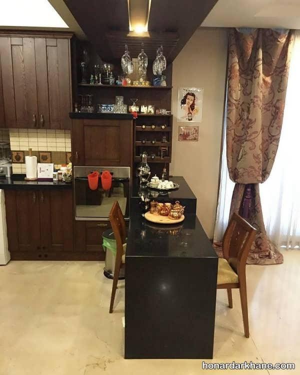 مدل آشپزخانه جدید و شیک