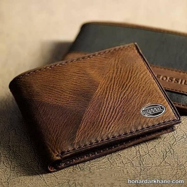 مدل جدید کیف پول چرمی