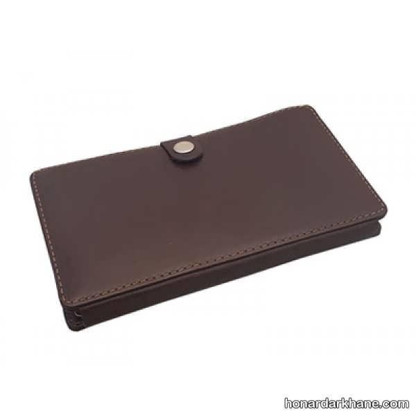 کیف پول ساده چرم