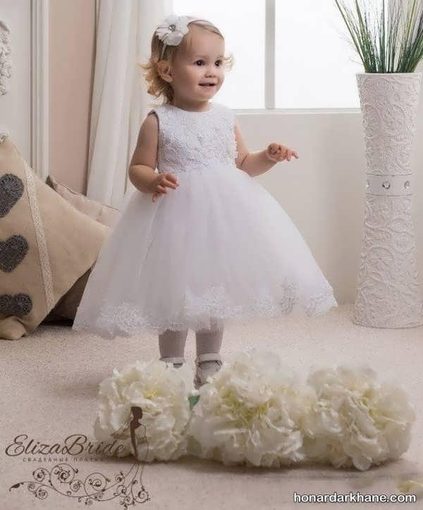 مدل لباس عروس نوزاد دختر
