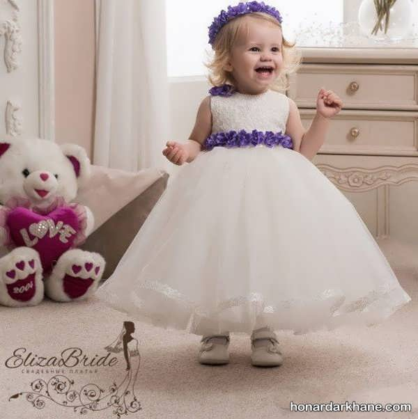 مدل جدید لباس عروس نوزادی