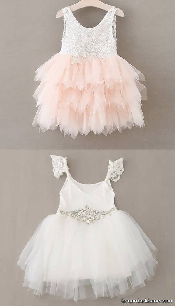 مدل لباس عروس کوتاه نوزادی