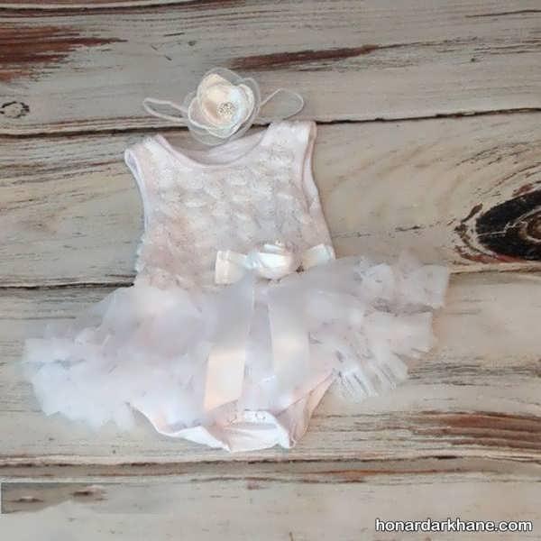 لباس عروس نوزاد زیبا