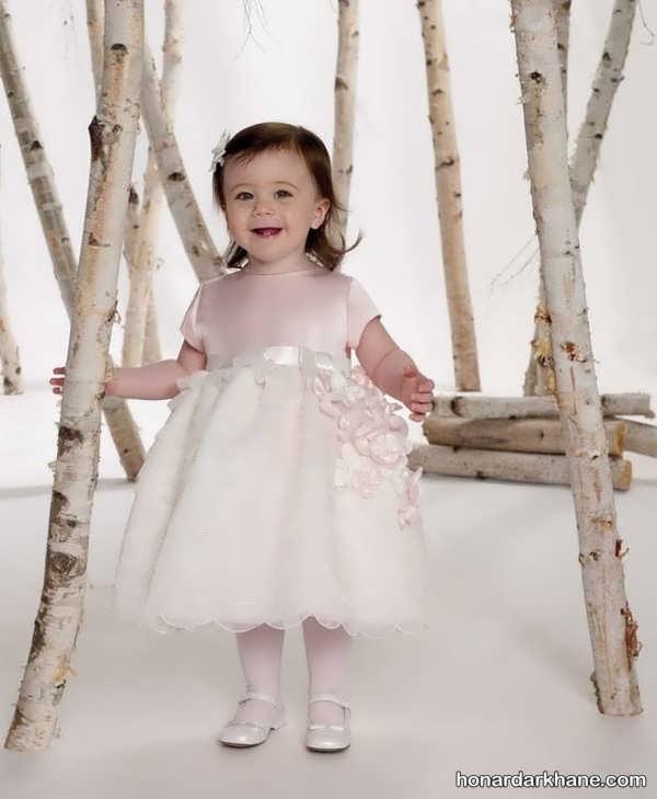 لباس عروس نوزاد رنگی