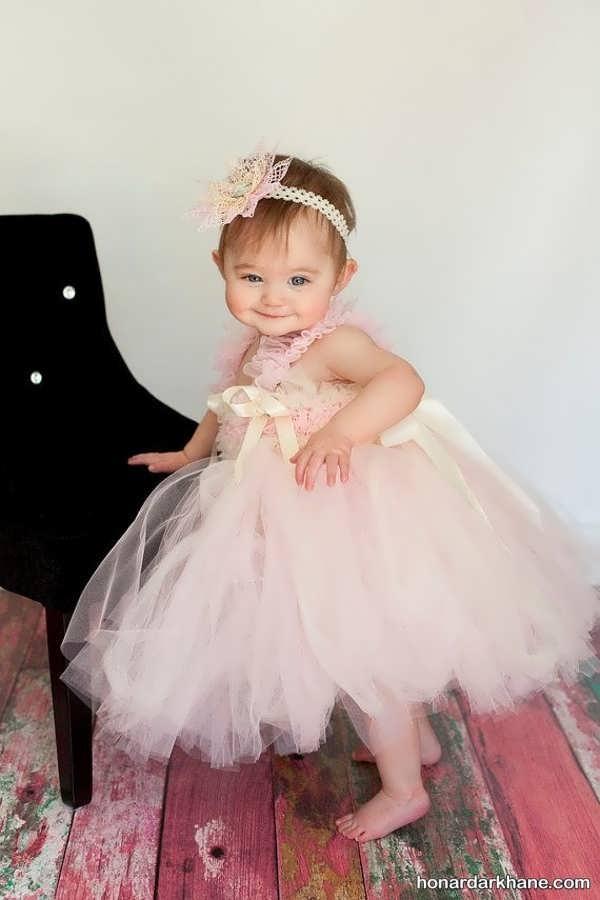 لباس عروس برای نوزاد
