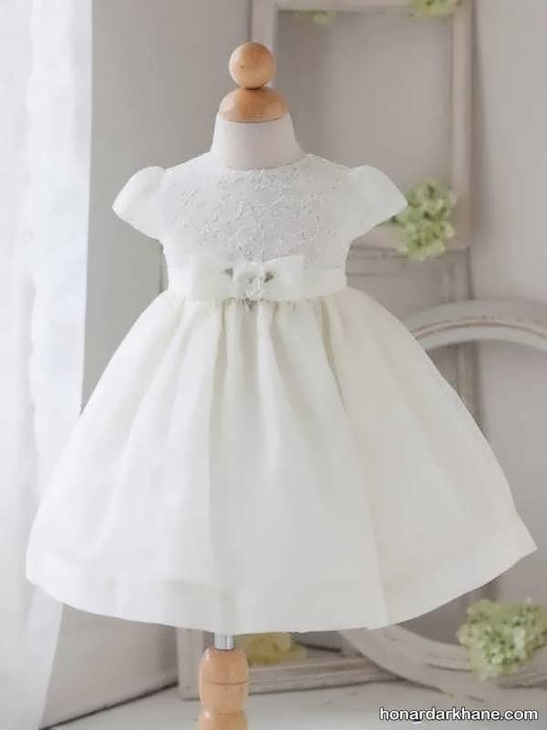 مدل زیبای لباس عروس نوزادی
