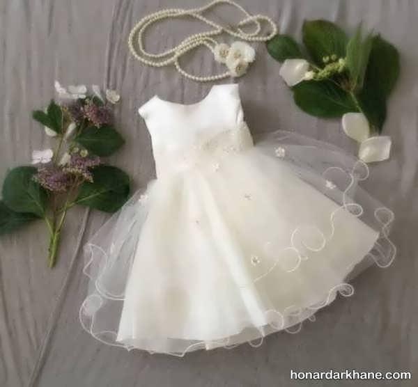 مدل لباس عروس جدید نوزادی