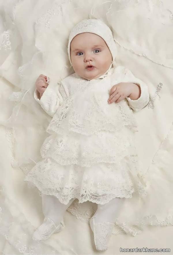 لباس عروس نوزاد دختر