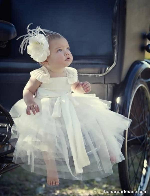 لباس عروس نوزادی جدید