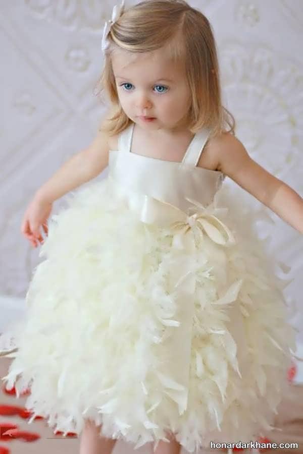 لباس عروس کودک جدید