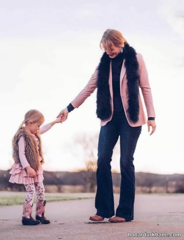 لباس اسپرت ست مادر و دختر