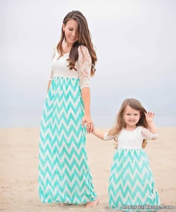 مدل لباس ست مادر و دختر