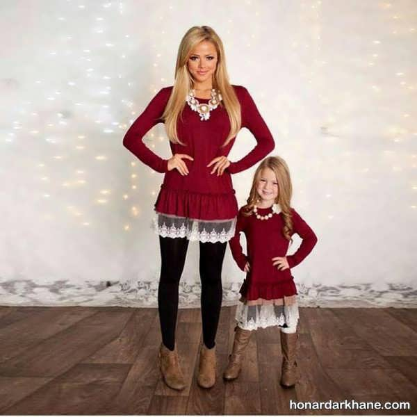 لباس ست دختر و مادر