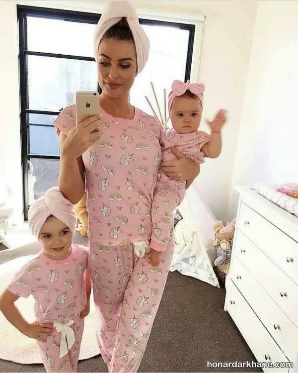 ست لباس مادر و دختران