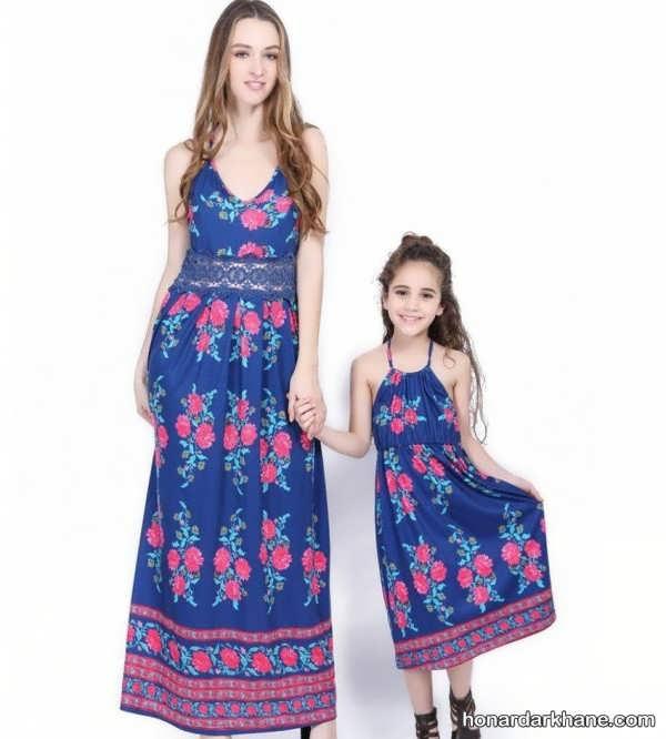 مدل لباس هماهنگ مادر و دختر