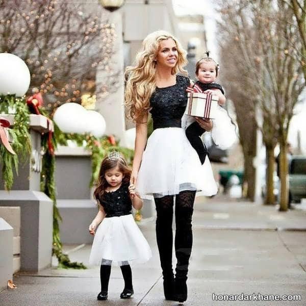 مدل پیراهن ست مادر و دختری