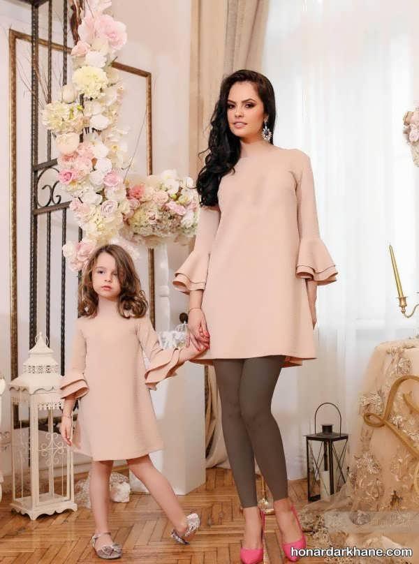 لباس ست برای مادر و دختر