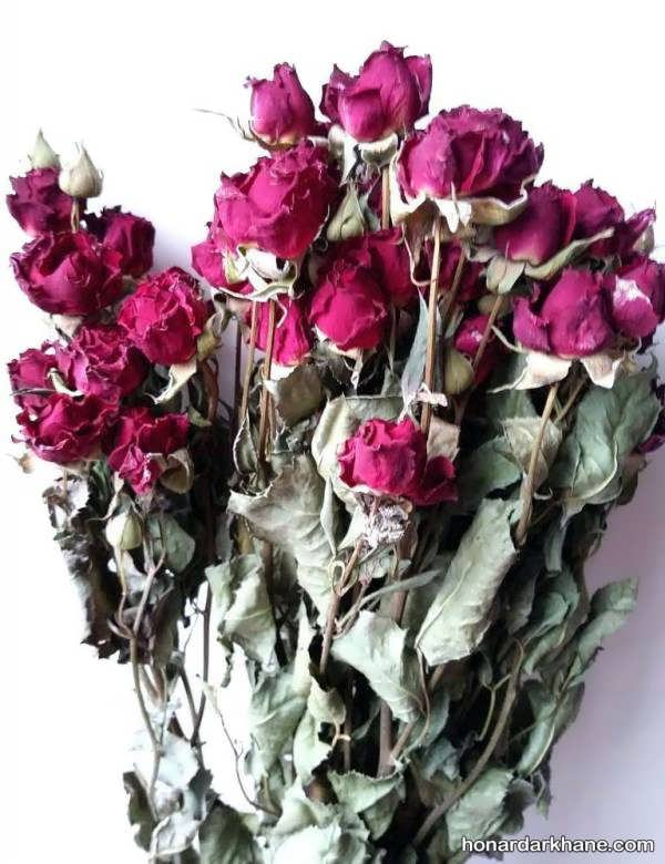 تزیین زیبا و شیک گل رز