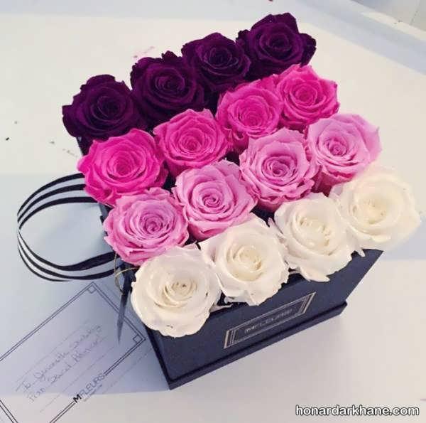 تزیینات باکس های گل زیبا و شیک