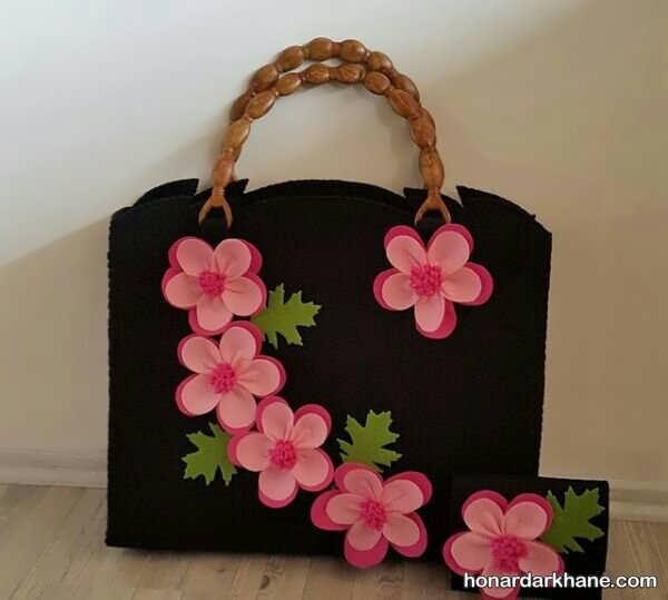 کیف تزیین شده زیبا