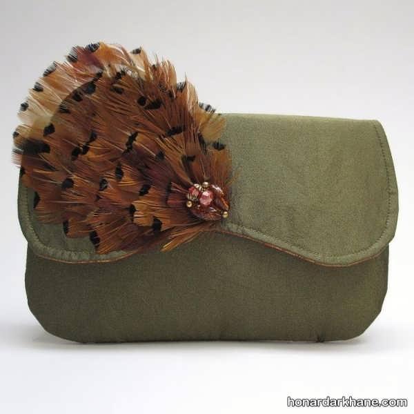 تزیین زیبای کیف مجلسی