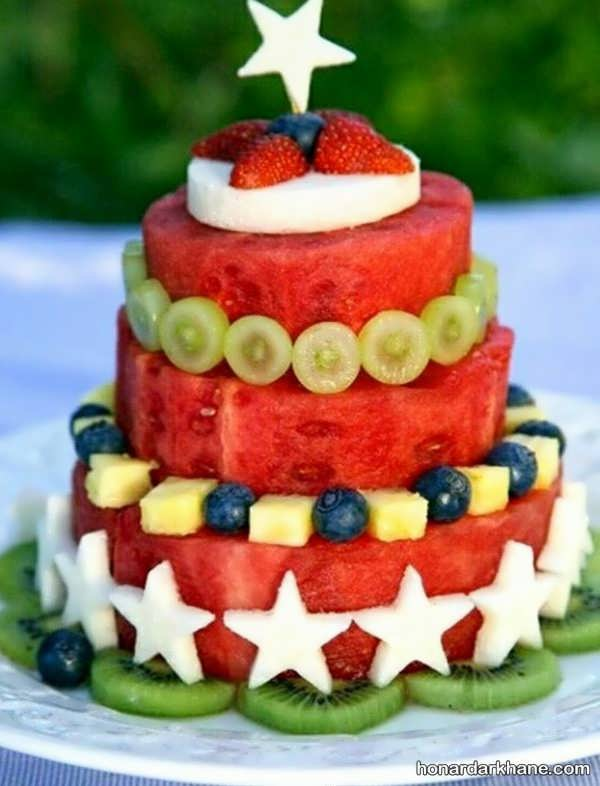 میوه آرایی تولد بزرگسالان