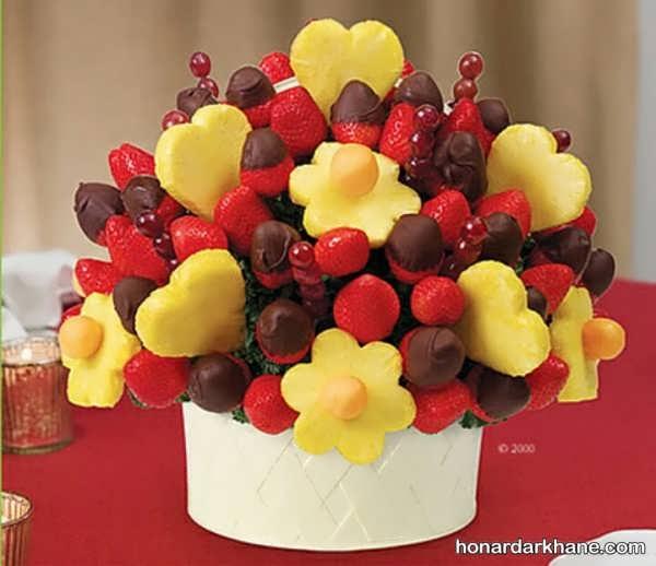 تزیین میوه برای تولد