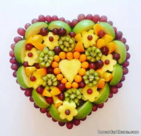 تزیین میوه های تولد