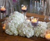 تزیین میز با شمع و شمع آرایی میز تولد و مهمانی