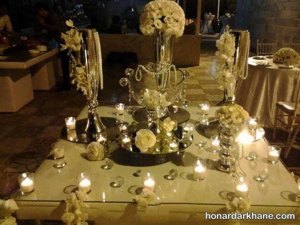 تزیین میز نامزدی شیک و زیبا
