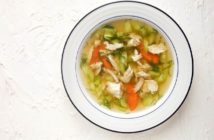 طز تهیه سوپ مرغ