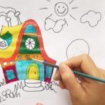 نقاشی ساده برای کودکان