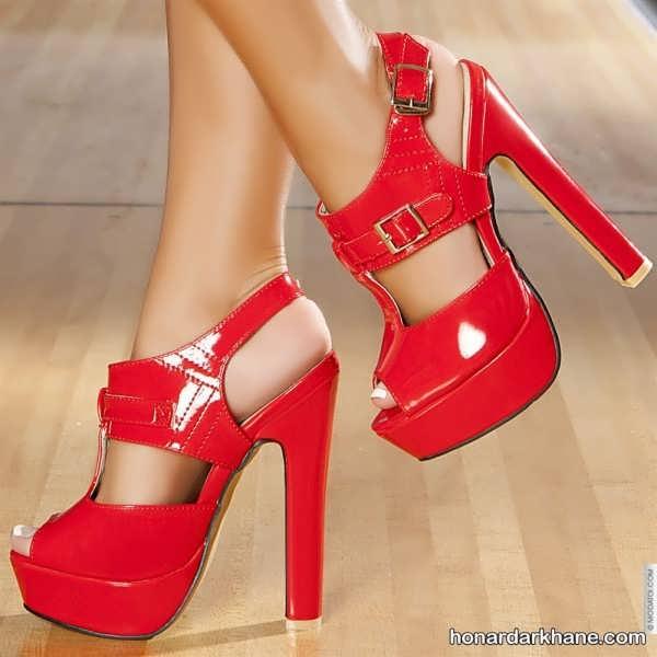 مدل کفش پاشنه بلند جدید