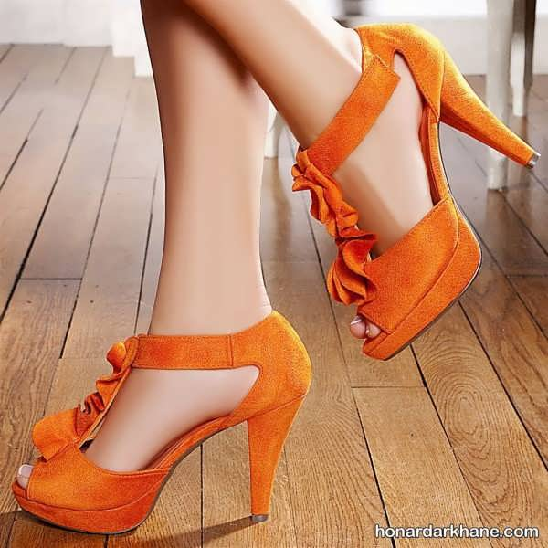کفش پاشنه بلند جدید و زیبا
