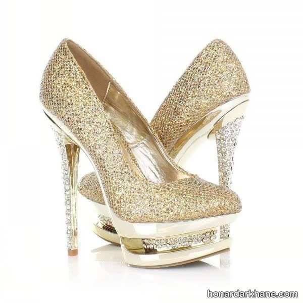 مدل جدید کفش مجلسی پاشنه بلند