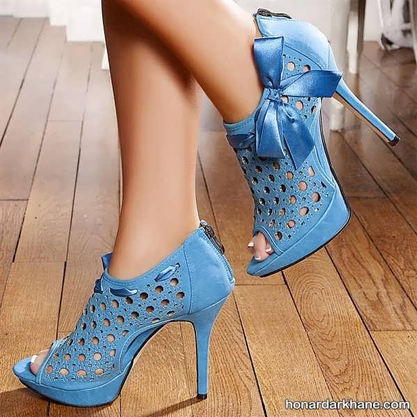 مدل کفش مجلسی پاشنه دار جدید