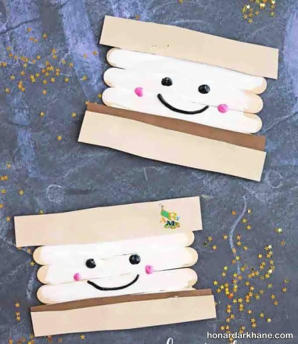 کاردستی های کودکانه با چوب بستنی