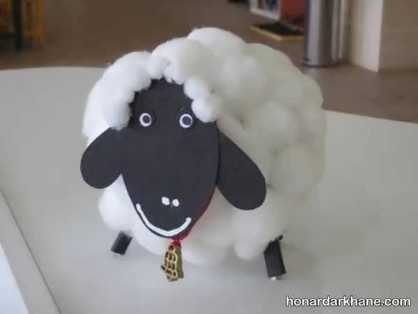 کاردستی گوسفند عید قربان