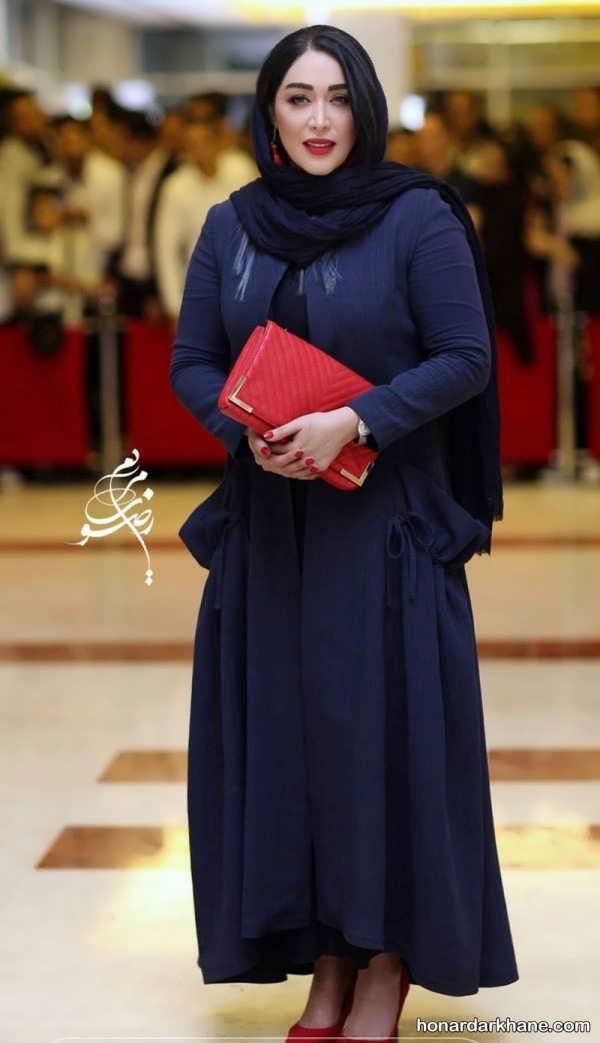 مدل مانتو بازیگران زن در جشن حافظ