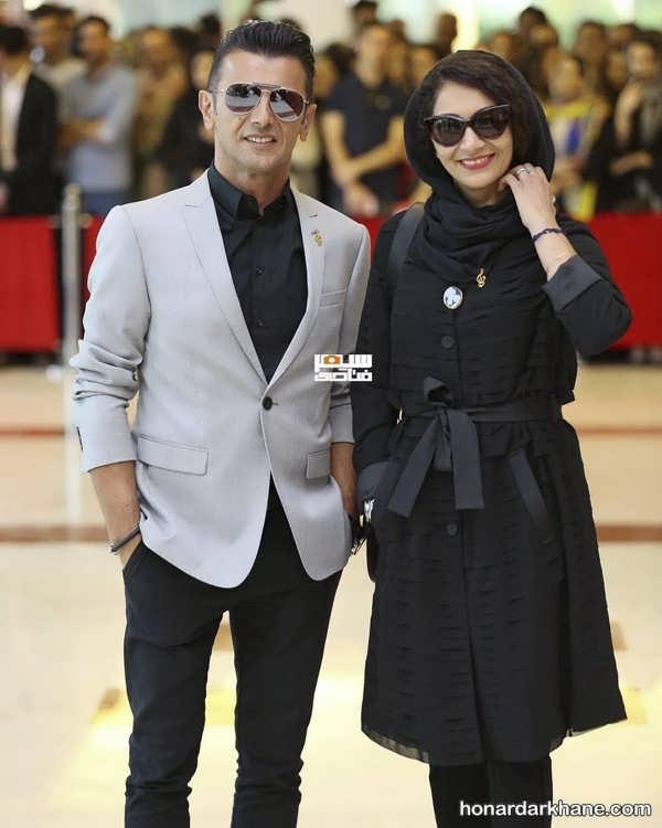 مانتو بازیگران در جشن حافظ