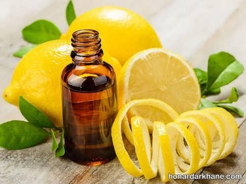ماسک روغن زیتون و لیمو