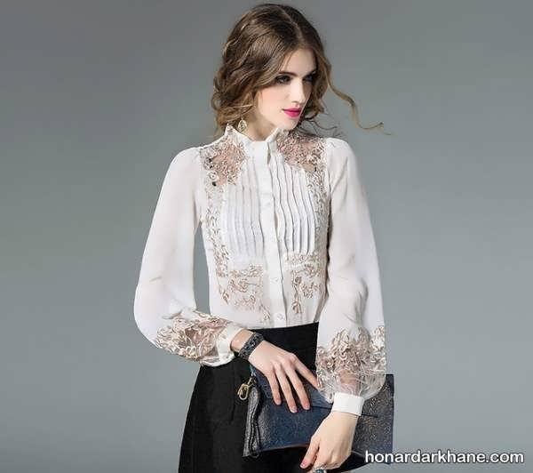 مدل لباس جدید عروسکی پفکی مدل آستین پفی بلند و کوتاه برای مانتو و لباس های زنانه