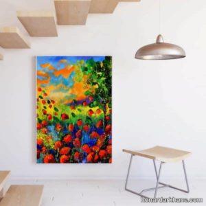 تابلو نقاشی با طرح مدرن