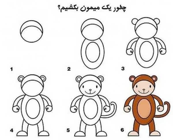 آموزش نقاشی ساده برای بچه ها