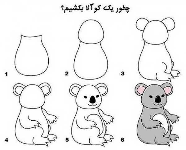 نقاش کوآلا برای بچه ها