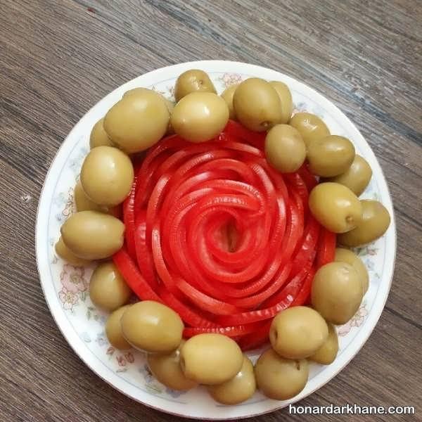 دیزاین گوجه فرنگی