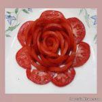 تزیین گوجه فرنگی