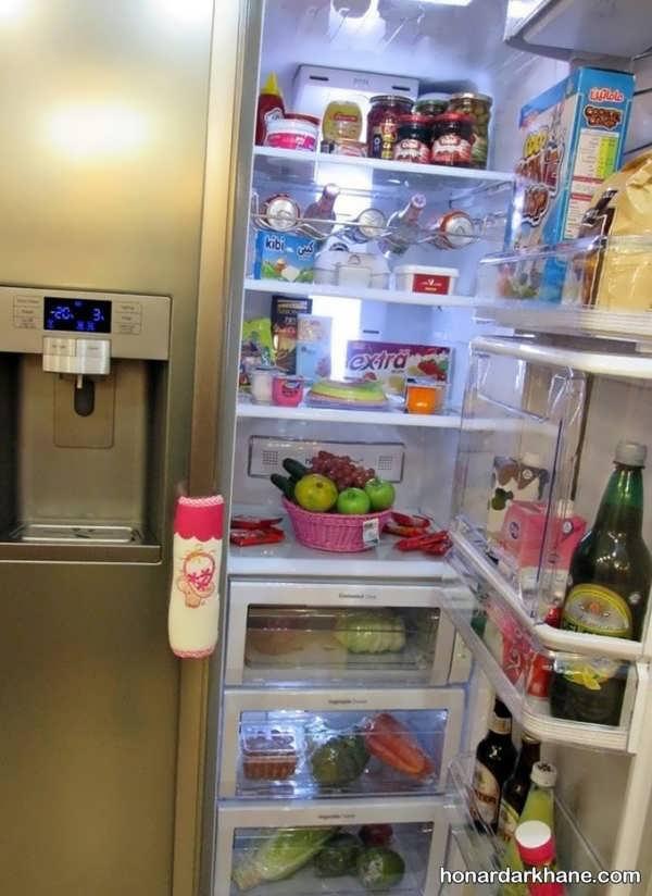 تزیین یخچال برای عروس