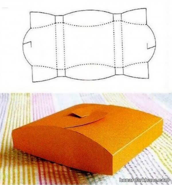 آموزش ساختن جعبه کادو